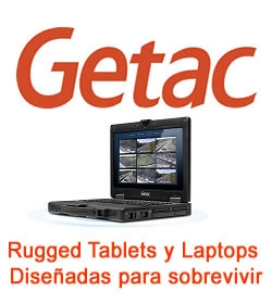Getac Tablets y Laptops