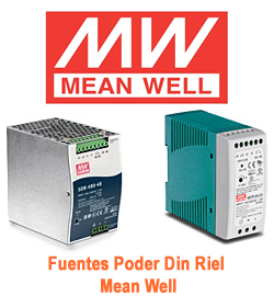 Fuente Poder Mean Well
